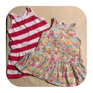 2 H&M Dresses Bundle Girls 18-24M